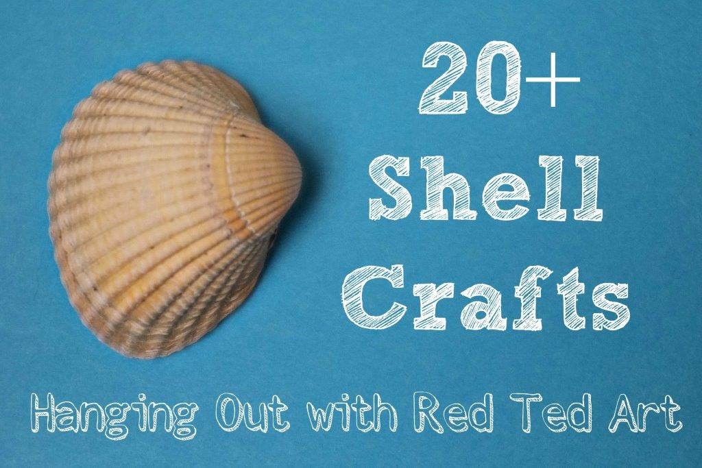 Shell Craft Ideas Summer