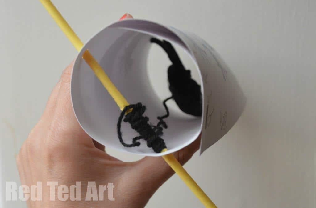 Spider Nursery Rhyme Craft