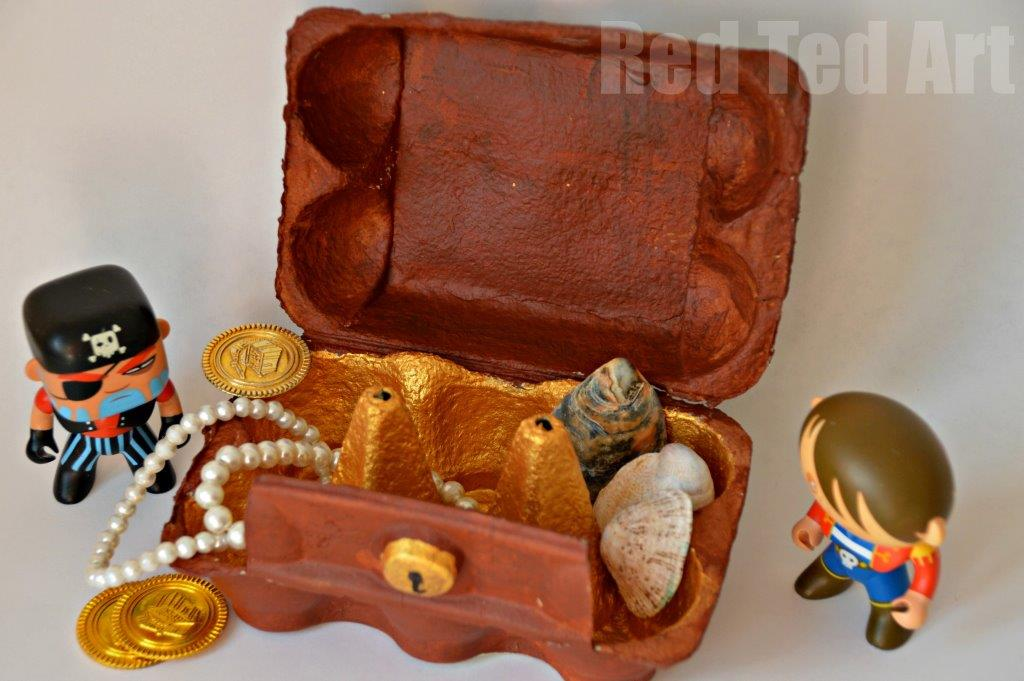 Image Result For Pirate Chest Jewelry Box