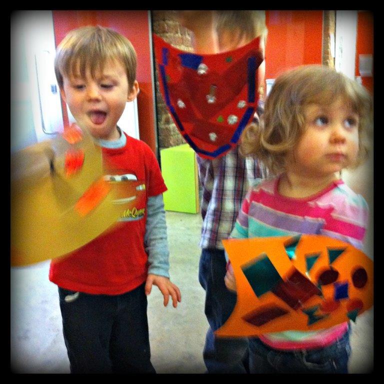 V&A with kids