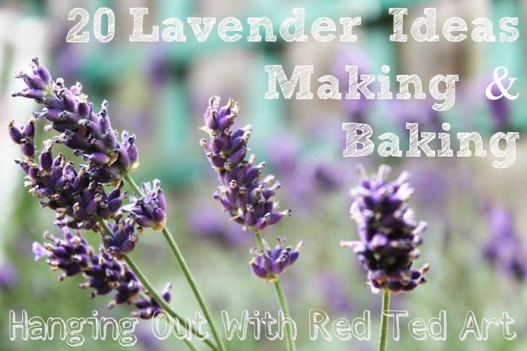 Lavender Ideas Makes Amp Bakes Red Ted Art Make