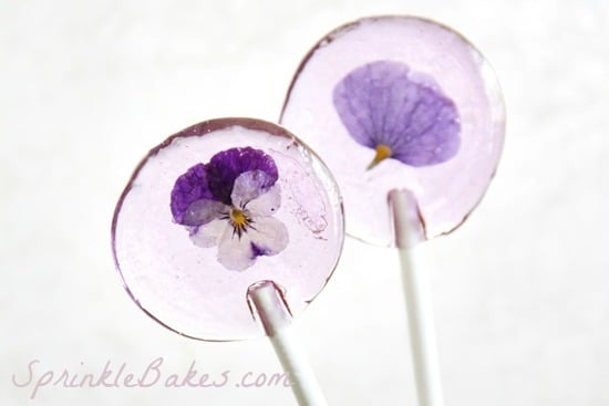 flower lollies