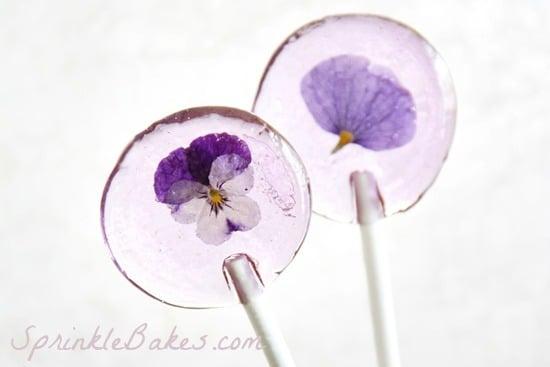 flower lollies