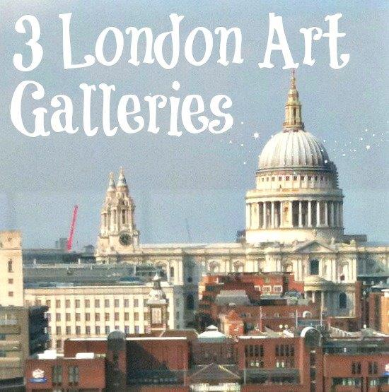 london art galleries for kids