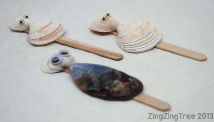 37 Sea Shell Craft Ideas Red Ted Art S Blog