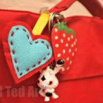 Felt Heart Ornament Craft Keyring – Gifts That Kids Can Make