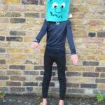 Halloween Costumes Kids Can Make: Frankenstein