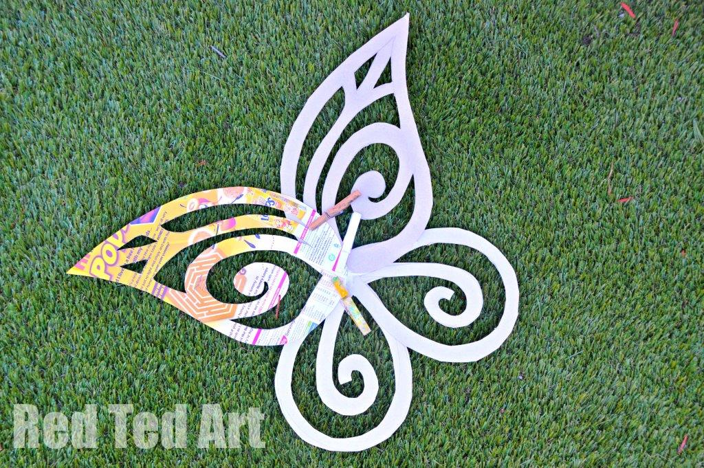 Fairy Wings DIY 3