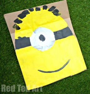 Minion Fancy Dress Mask