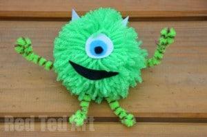 Monsters Inc Craft Ideas