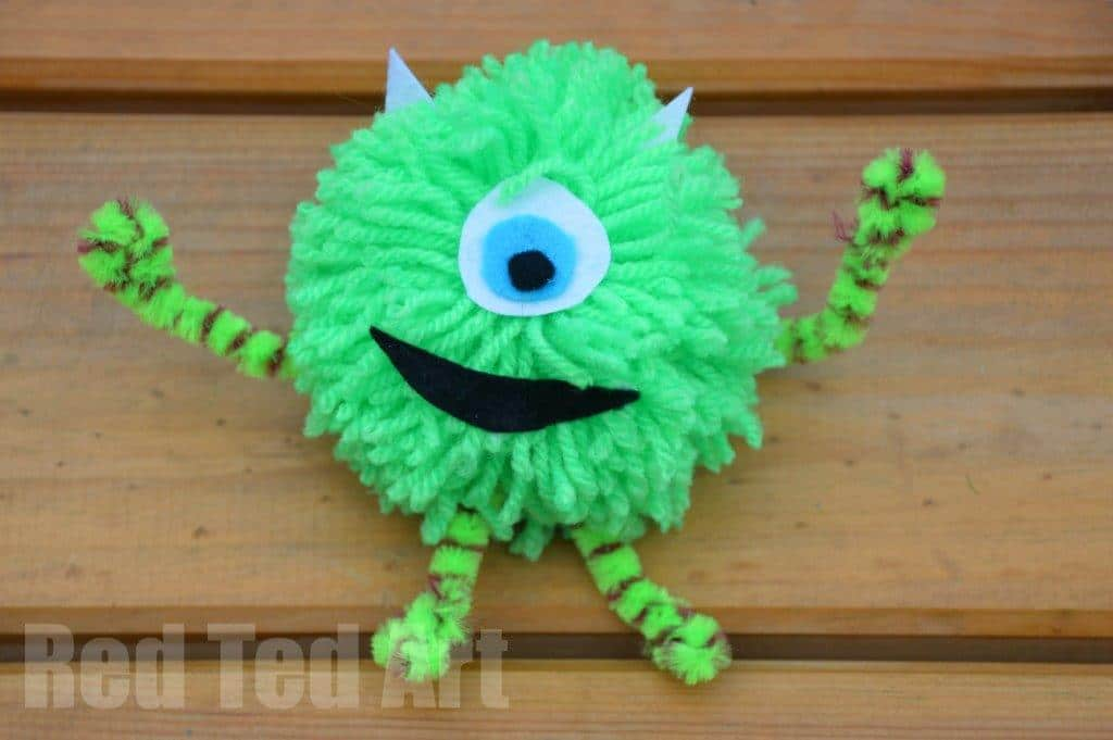 Monsters Inc Craft Ideas