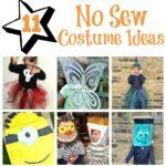 10+1 No Sew Costume Craft Ideas