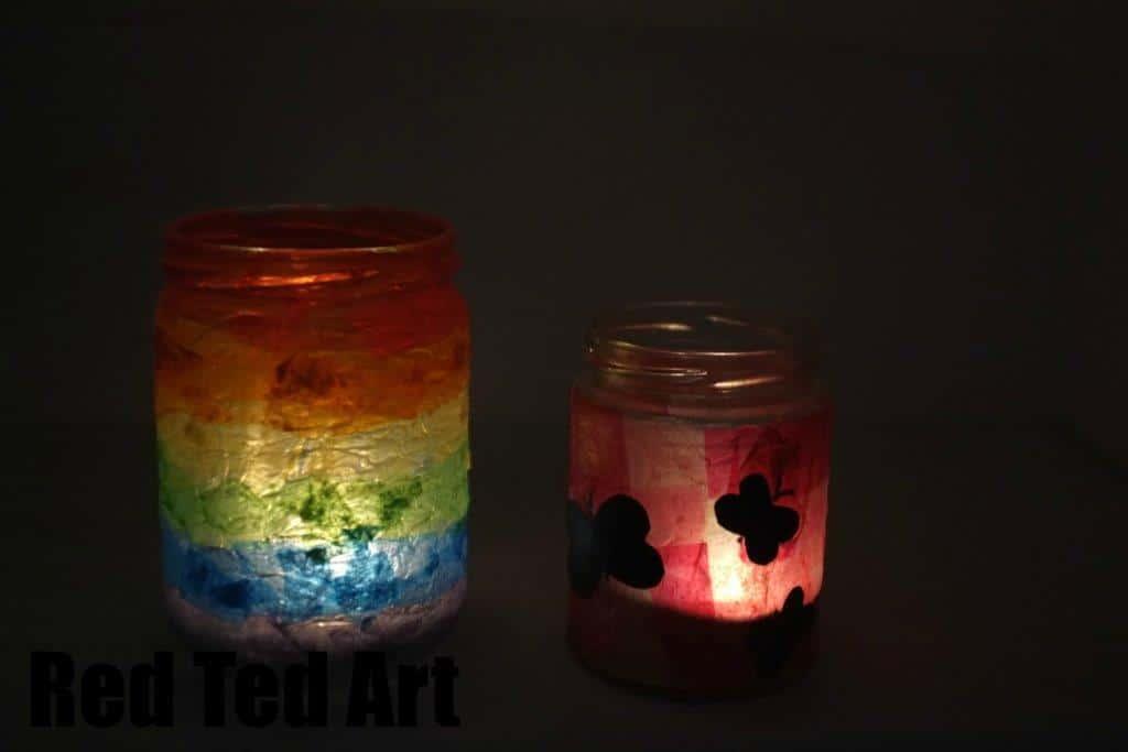 Summer Lantern Craft