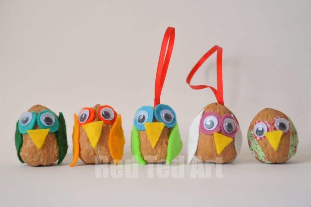Walnut Owl Craft