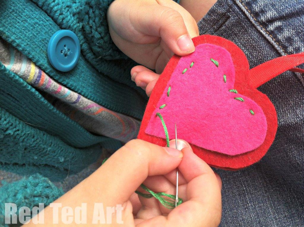 teaching kids to sew - it isn't as hard as you sound and you can start them young!