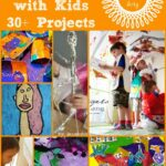 30 Art Projects for Kids – Exploring the Great Artists