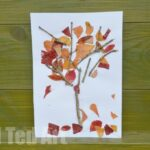 Four Seasons Crafts: Autumn Nature Tree
