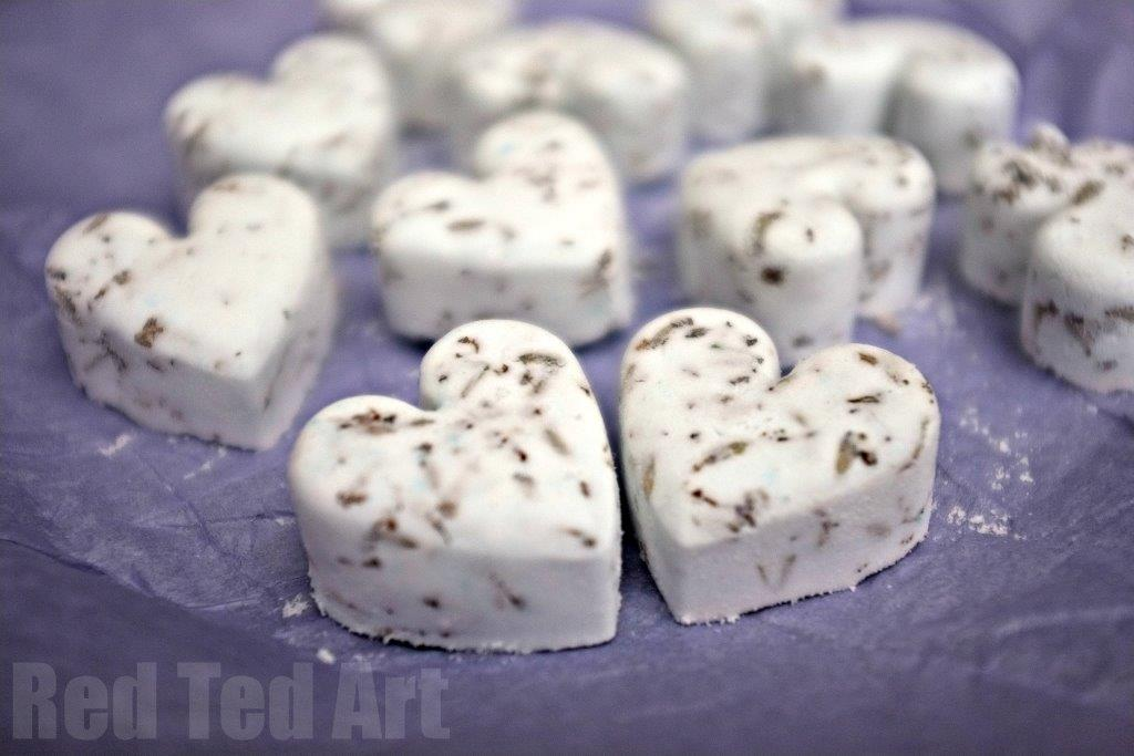 Bath Bomb Recipe Gifts Kids Can Make Red Ted Art
