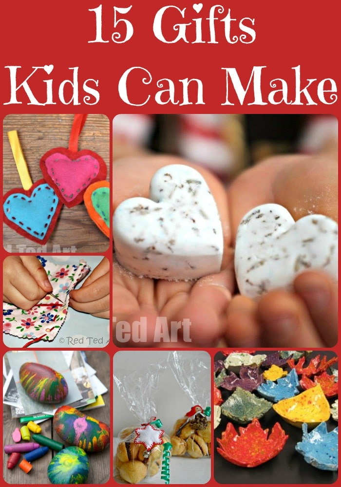 Christmas Gifts Ideas That Kids Can Make - Red Ted Art's Blog