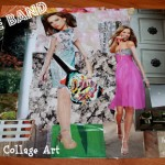 Collage Art The Band