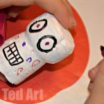 Day of the Dead Craft kids (2)