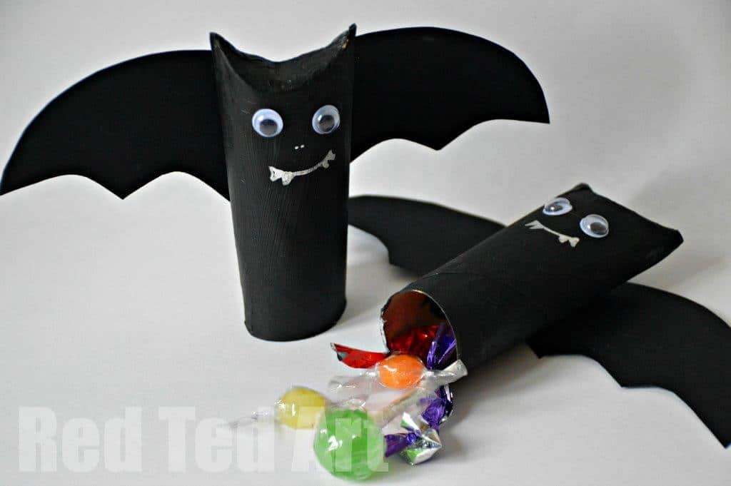 Halloween Craft Easy Pinata Goodie Bag Red Ted Art