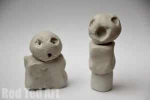 Kids Get Arty: Joan Miró Sculptures - Red Ted Art\'s Blog