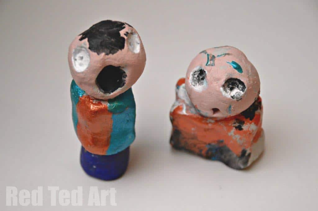 Jean Miro for kids -sculptures