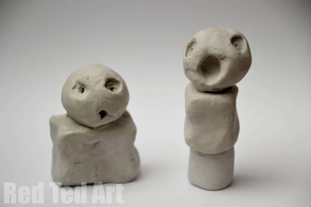 Kids Get Arty: Joan Miró Sculptures - Red Ted Art's Blog