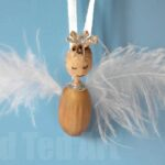 Nature Crafts Acorn Angel