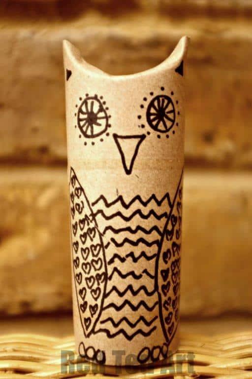 TP Roll Owl