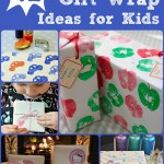 Wrapping Paper Ideas for Kids