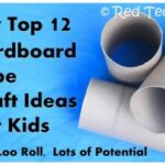 Cardboard Tube Crafts – Easy, Fun, Cheap. Perfect!