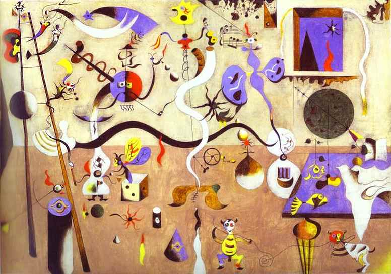 Joan Miro Paintings Red Ted Art S Blog