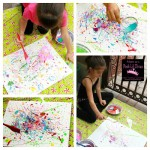 pollock painting Collage