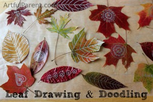 leaf art ideas