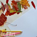 Daily Creativity: Leaf Collages