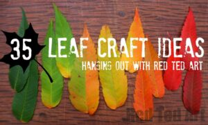 Autumn Leaf Craft Ideas