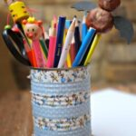 Nature Crafts: Bat Pencil Topper