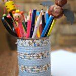 Nature Crafts: Bat Pencil Topper