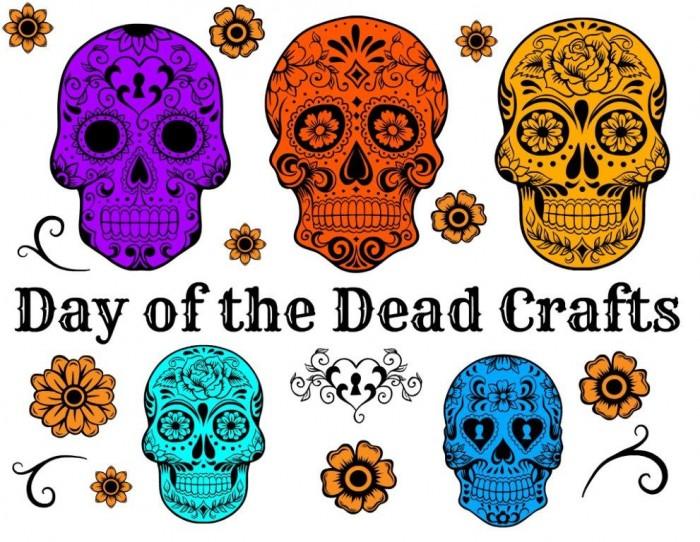 Day Of The Dead Crafts Dia De Los Muertos Red Ted Arts Blog
