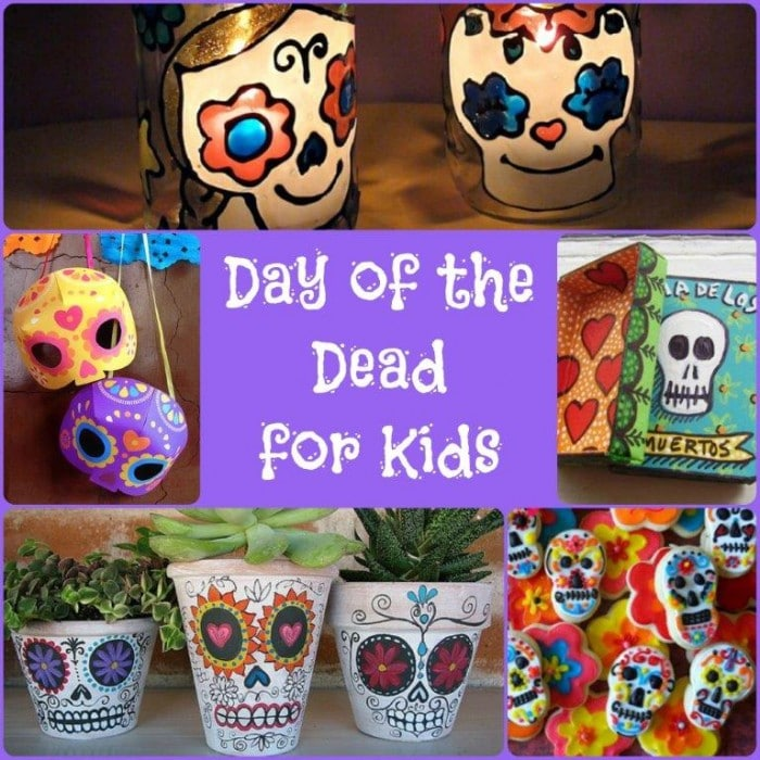 Day Of The Dead Crafts Dia De Los Muertos Red Ted Arts Blog