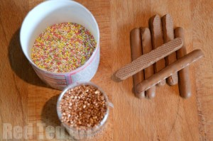 Edible Sparklers how to