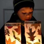 Leaf Crafts for Fall - easy kids crafts made from every day items