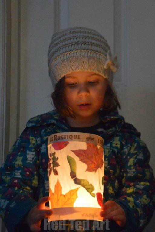 Good Simple Leaf Lanterns For Kids. Simple Leaf Lanterns For Kids And  Preschoolers. Lovely Nature