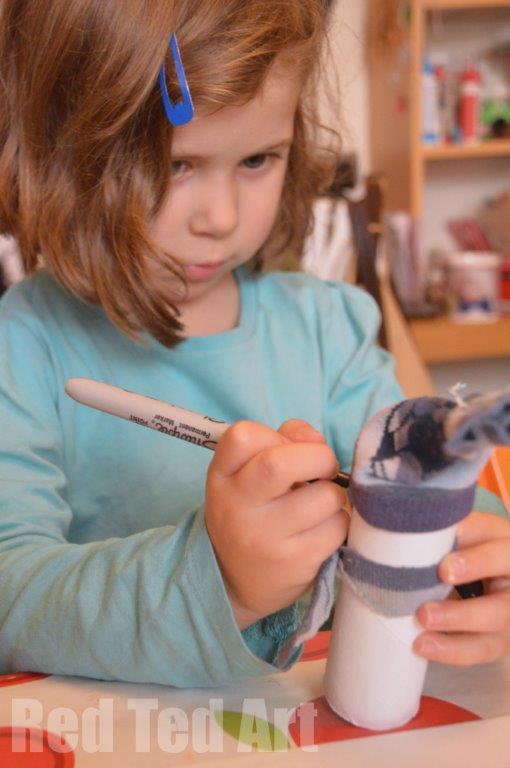 Snowmen crafts preschoolers
