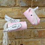 Toilet Paper Rolls Unicorn Marionette or Puppets
