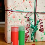 Wrapping Paper: Splat Painting