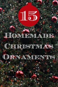 homemade ornaments