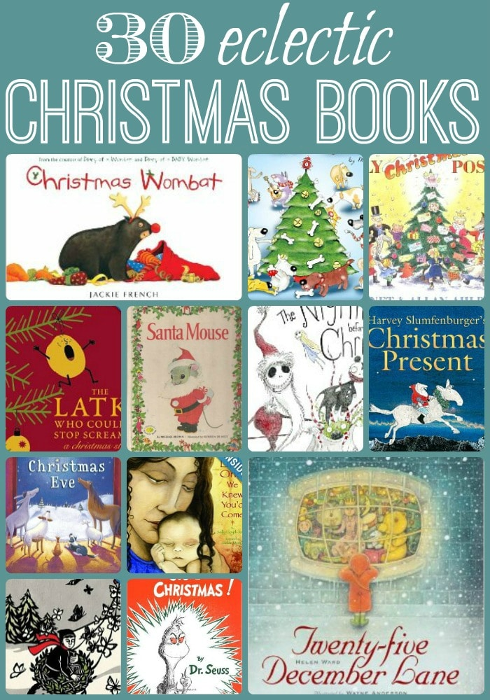 30 Christmas Books – I challenge you not to find something new!